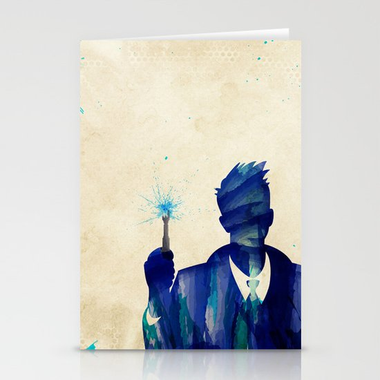 Doctor Who 10th Doctor David Tennant Stationery Cards