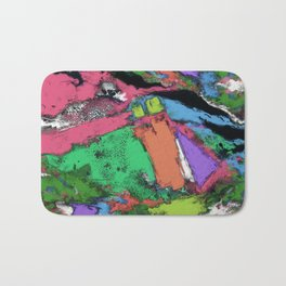 Mapping points Bath Mat