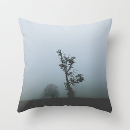 Black Forest Solitude Throw Pillow