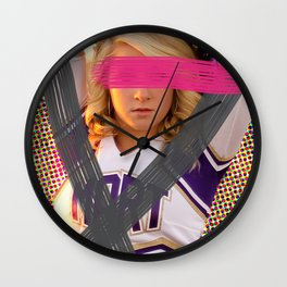 Cheerleader´s  adventures Wall Clock