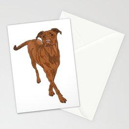 Dog Portrait 2 Stationery Cards
