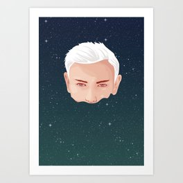 ME AND OTHER BLACKHOLES Art Print