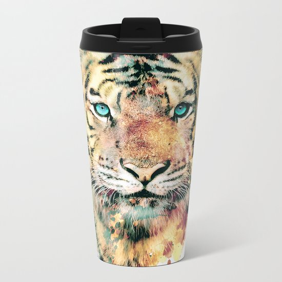 Tiger III Metal Travel Mug