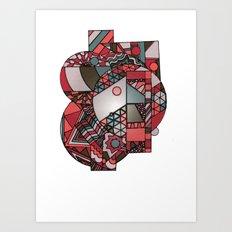Geometricsdos Art Print