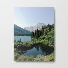 Lake Josephine, Glacier National Park Metal Print