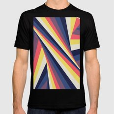 TwiangleTres Black Mens Fitted Tee MEDIUM