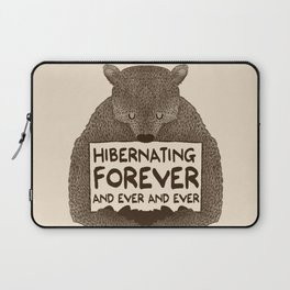 Hibernating Forever Laptop Sleeve