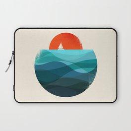 Deep blue ocean Laptop Sleeve