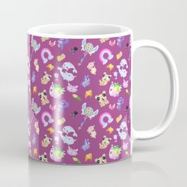 Star vs the Forces of Evil Pattern ( Pink ) Coffee Mug