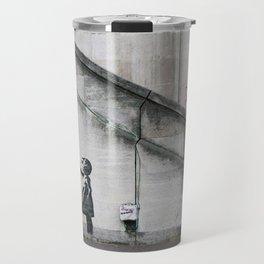 Girl with Balloon - copy of Banksy | Street ART | Travel Mug