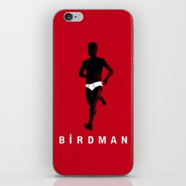 Birdman Running iPhone Skin