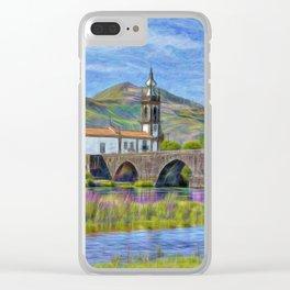 Sao Antonio, Ponte de Lima, Portugal Clear iPhone Case