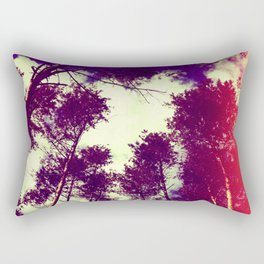 There is a pleasure in the pathless woods... Rectangular Pillow