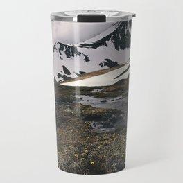 Alaskan mountain meadow Travel Mug