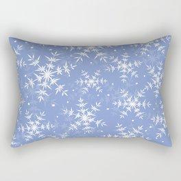 Snowflake pattern Rectangular Pillow