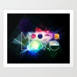 Modern Love Art Print
