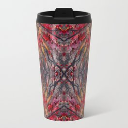 Tara leaves geometry II Travel Mug