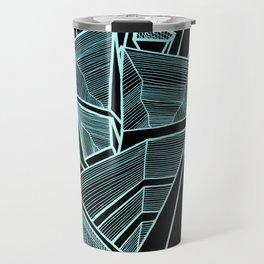 Pockets - Inverted Blue Travel Mug