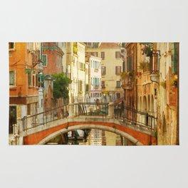 On a Venetian Canal Rug