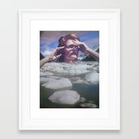 lotus Framed Art Prints featuring Lotus by Djuno Tomsni