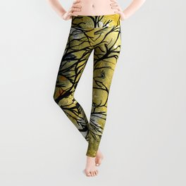 Blessed Is The Man Who Trusts In The Lord Leggings