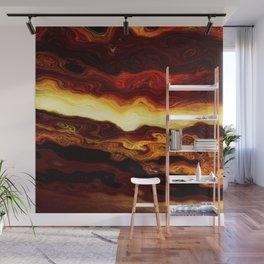 Molten Wall Mural