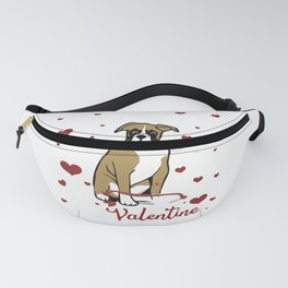 My Boxer is My Valentine1 Fanny Pack