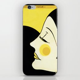 Speak to me of Love iPhone Skin