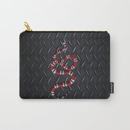 Black Diamond snake Carry-All Pouch