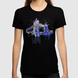 Tower Bridge watercolor T-shirt