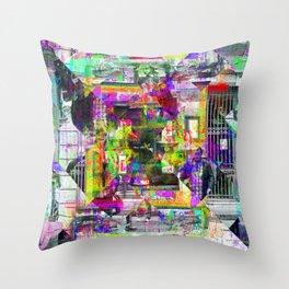 For when the segmentation resounds, abundantly. [extra, 01] Throw Pillow