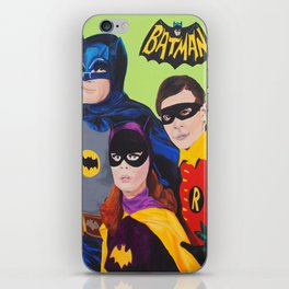 Bat Trio 66 iPhone Skin