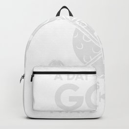 Golf Golf Player Golf Ball Golf Clubs Backpack