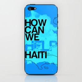 Hope for Haiti. iPhone Skin