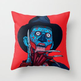 CONSUME: FREDDY KRUEGER Throw Pillow