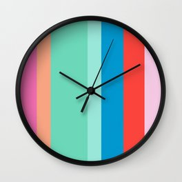 Island Vibes - summer time Wall Clock