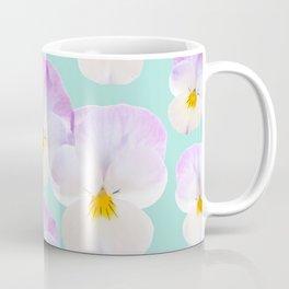 Pansies Dream #1 #floral #pattern #decor #art #society6 Coffee Mug