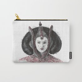 Padme red throne room (Scribbles Pen Art) Carry-All Pouch