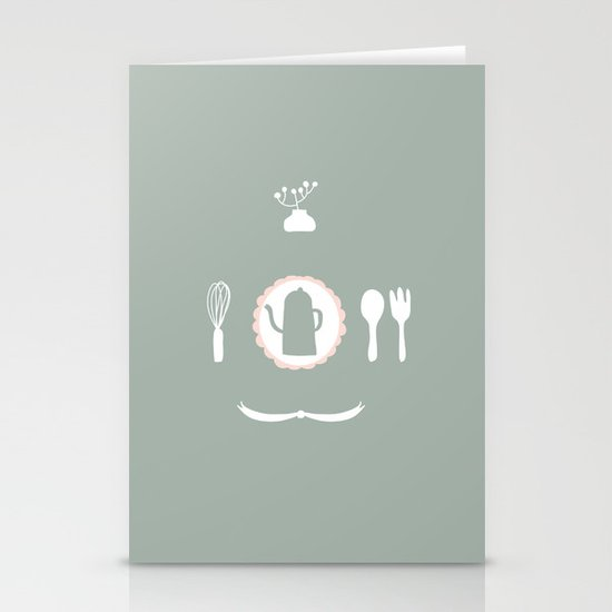 Kitchen Story Stationery Cards