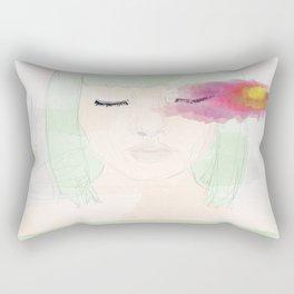 Watery Eyes Rectangular Pillow