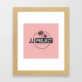 JJ PROJECT Framed Art Print