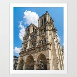 Cathédrale Notre-Dame de Paris Art Print