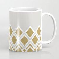 crown Mugs featuring crown by lorelei art design