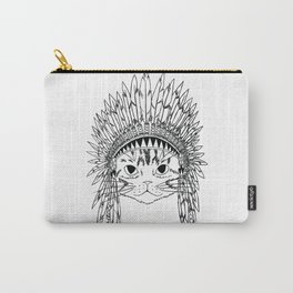 Chief Kitty  Carry-All Pouch