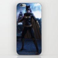 batgirl iPhone & iPod Skins featuring Batgirl by patriciogandara