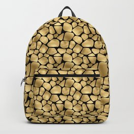 Black and Gold Animal Abstract #3 Backpack