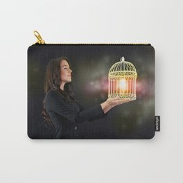 Self Discovery. Finding Inner Freedom. Carry-All Pouch