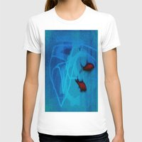 ships T-shirts featuring FISH&SHIPS by lucborell