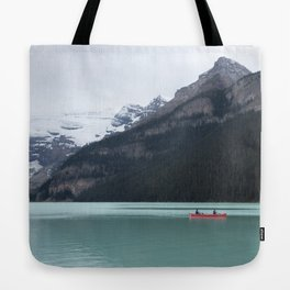 Lake Louise Quiet and Peace Tote Bag