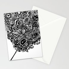 the doodle wand Stationery Cards